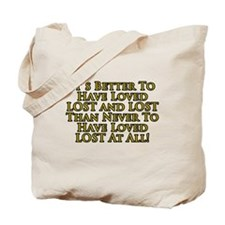 Loved LOST Tote Bag