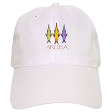 Funny Tropical island Baseball Cap