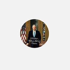 President Bill Clinton - Mini Button