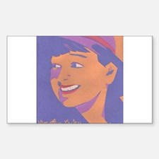 Cute Dorothy parker Decal