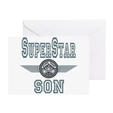 Superstar Son Greeting Card