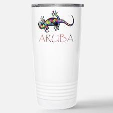 Funny Aruba Travel Mug