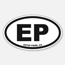 Estes Park Sticker (Oval)