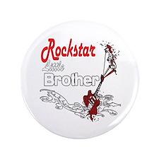 """Rockstar Little Brother 3.5"""" Button"""