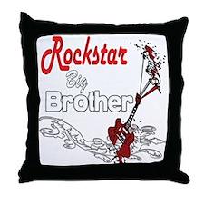 Rockstar Big Brother Throw Pillow