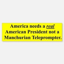 AMERICA NEEDS A REAL AMERICAN PRESIDENT...