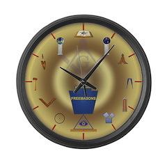 PA Freemasons Large Wall Clock