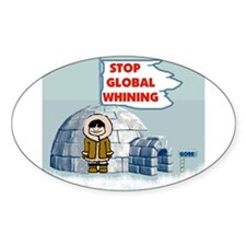 STOP GLOBAL FREEZING Decal