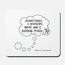 Sometimes Mousepad
