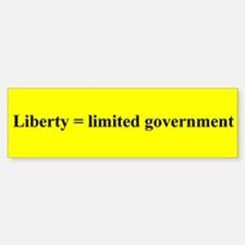 LIBERTY= LIMITED GOVERNMENT