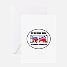 Fuck The CFR! Council on Fore Greeting Card