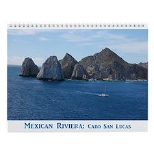 Mexican Riviera Wall Calendar