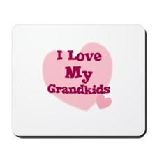 I Love My Grandkids Mousepad