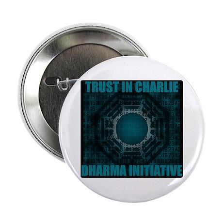 "Trust in Charlie - Dharma Num 2.25"" Button"