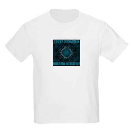 Trust in Charlie - Dharma Num Kids Light T-Shirt