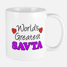 World's Greatest Savta Drinkware Mugs