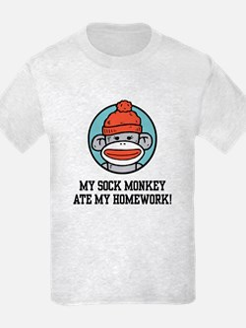 Funny Sock Monkey T-Shirt