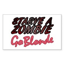 Starve a Zombie Decal