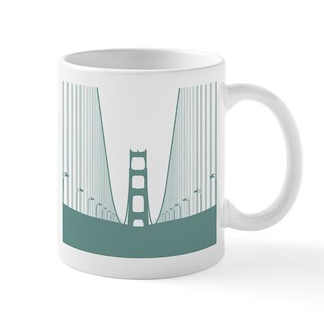 bay.bridge.green Mugs