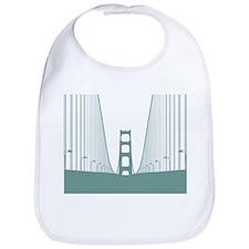 Cute Bridges Bib
