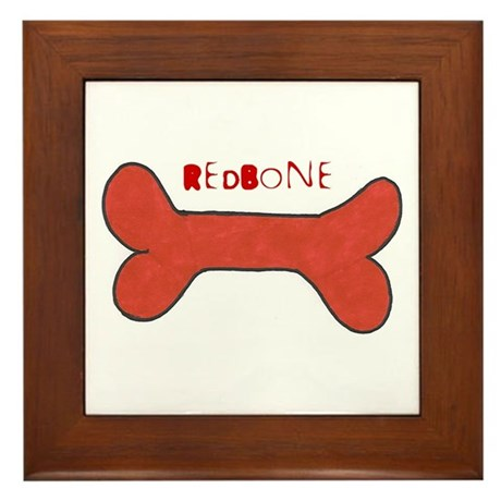 Framed Tile-The Redbone