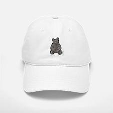 Bear and the Missing Bees Baseball Baseball Cap