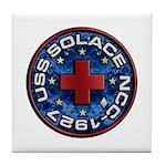 USS Solace Tile Coaster