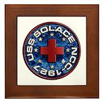 USS Solace Framed Tile
