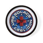 USS Solace Wall Clock