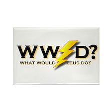WW Zeus D ? Rectangle Magnet
