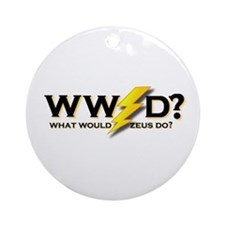 WW Zeus D ? Ornament (Round)