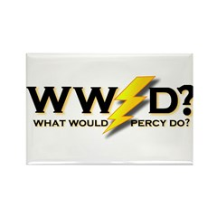 WW Percy D ? Rectangle Magnet (10 pack)