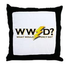 WW Percy D ? Throw Pillow