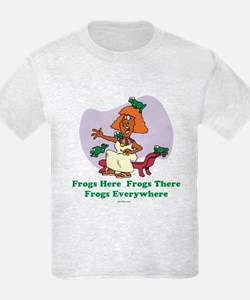 Frogs Kids Passover T-Shirt