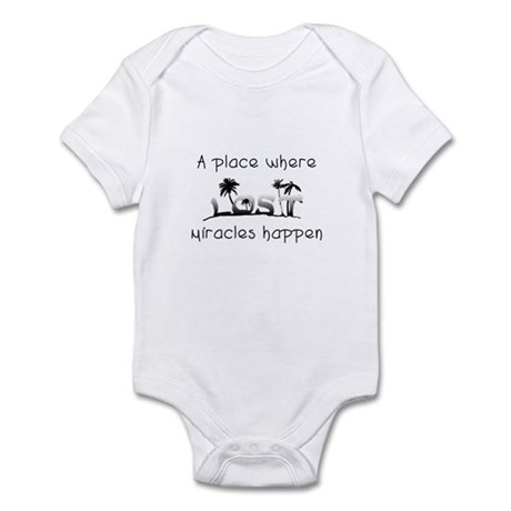 Lost Island - A place where m Infant Bodysuit