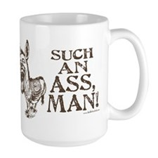 Ass, Man Anti Obama Mug