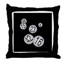 Number Please Throw Pillow