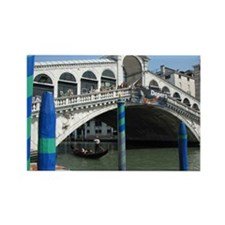 Rialto Bridge Rectangle Magnet
