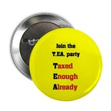 "JOIN THE T.E.A. PARTY 2.25"" Button"
