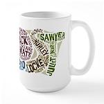 Lost Characters Large Mug