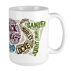Lost Characters Mug