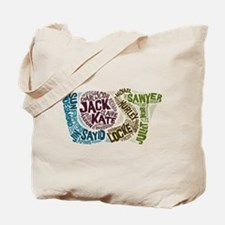 Lost Characters Tote Bag