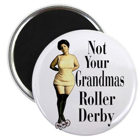 Grandmas Roller Derby Magnet
