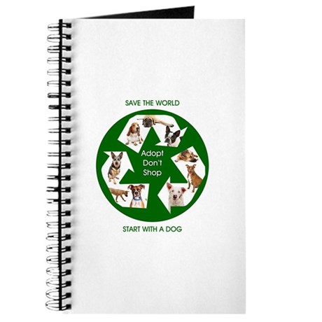 Recycle and Save A Dog Journal