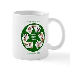 Recycle and Save A Dog Mug