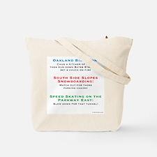 Unique Yinzer Tote Bag