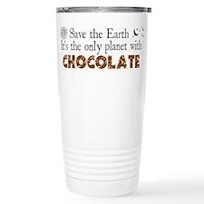 Chocolate Earth Travel Mug