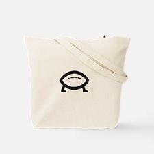 football evolves Tote Bag