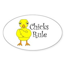 Chicks Rule Decal