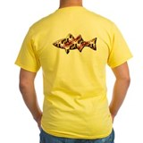 Maryland flag t-shirt Mens Yellow T-shirts